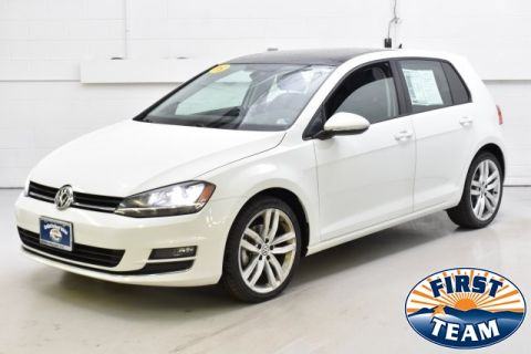 Pre-Owned 2015 Volkswagen Golf TDI SEL 4-Door